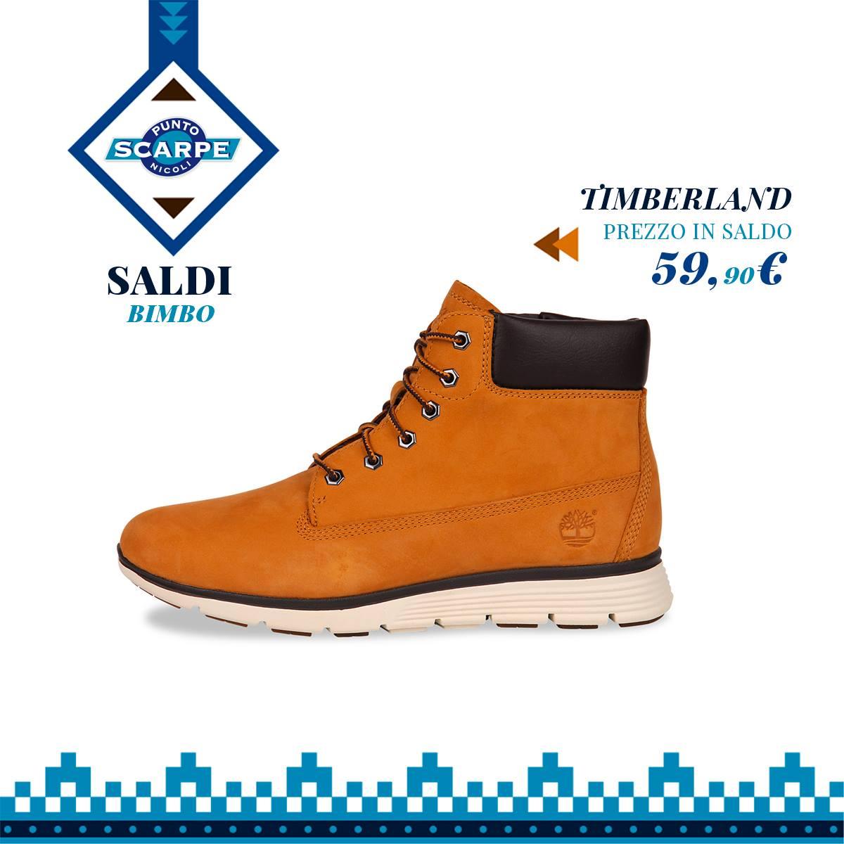 timberland scarpa bimbo