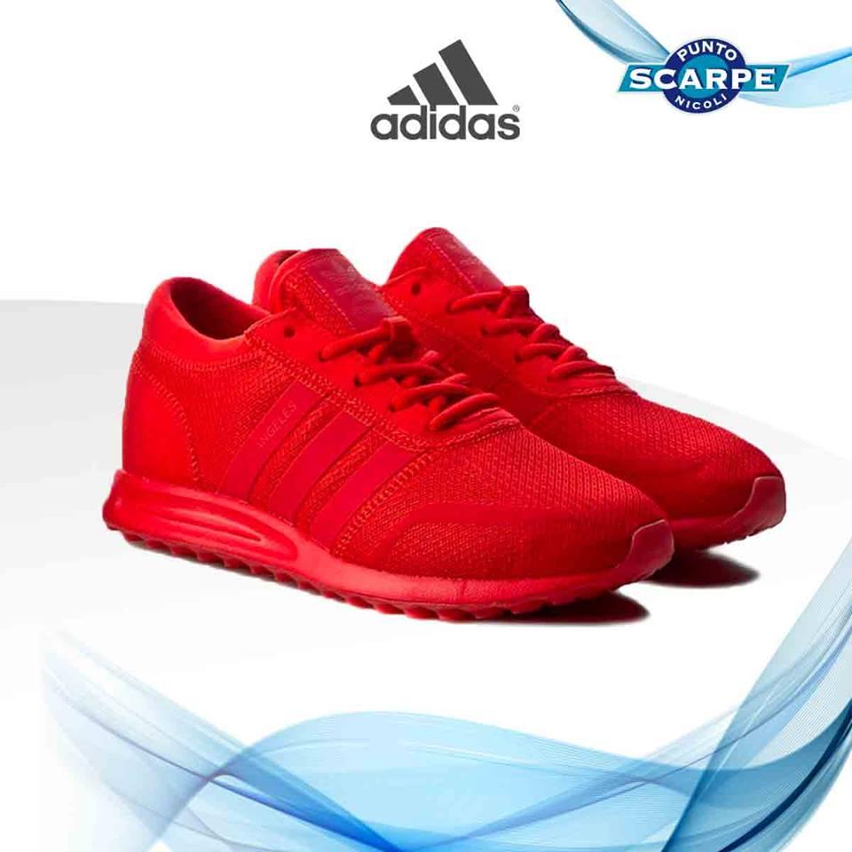 scarpe rosse adidas uomo