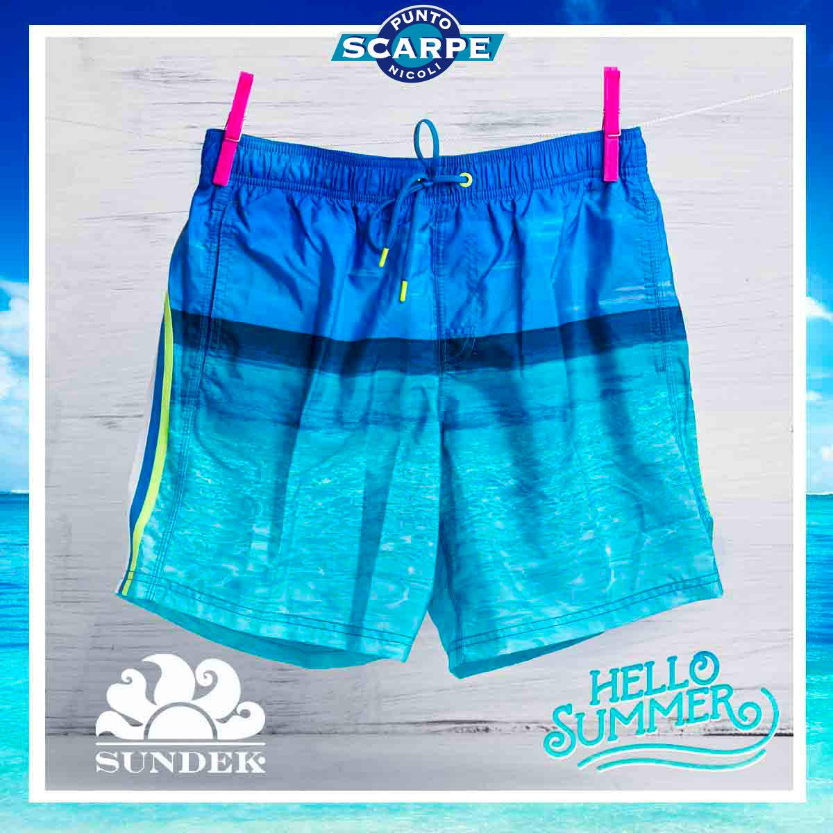 buy popular b8cc4 4247c Sundek costume pantaloncino uomo | puntoscarpenicoli